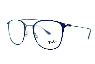 2e09e60d71 New Authentic Ray-Ban Rb 6377 2906 Navy Blue Frames Eyeglasses 50Mm Rb6377  Rx