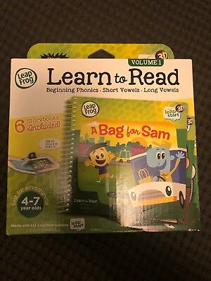 0a2dd02d9ed1b New LeapFrog LeapStart 3D Learn to Read Volume 1 Six Story Books Included