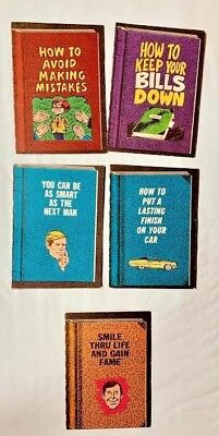 Lot Of 5 Different 1967 Topps Dopey Books (5,18,27,28 &35) Very Nice Condition