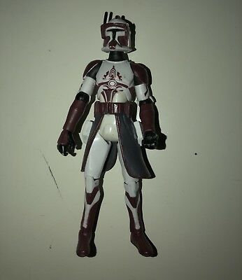 Star Wars The Clone Wars Commander Fox Target Exclusive 3.75 Inch Action Figure