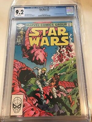 Star Wars 59 CGC 9.2 Marvel Comics 1982 1st appearance of Orion Ferret
