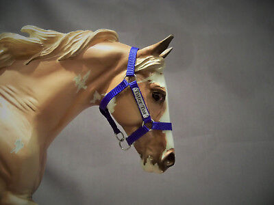 Breyer Traditional Nylon Halter with Name Plate - You Pick Colors