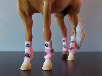 Custom Breyer Traditional SMB Boots Front and Back Set - You Choose Color