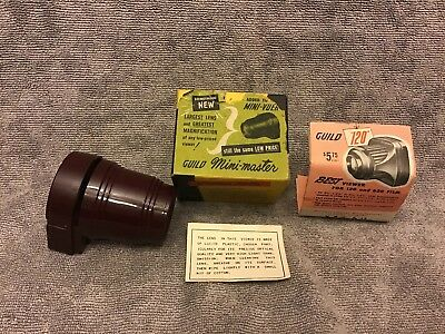 Guild Mini -master Viewer In Box With Paperwork Vintage