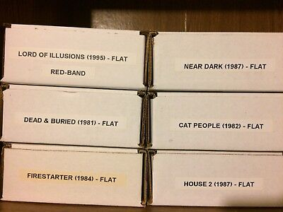 35mm Feature Film Trailer lot of 6