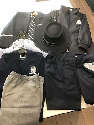 Pulteney Grammar School kurrajong  boys summer and winter uniform
