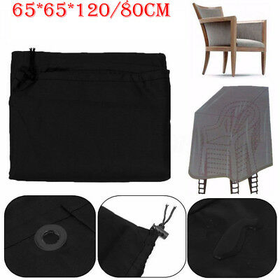 Parkland Waterproof Outdoor Garden Patio Furniture Stacking Chair Chairs Cover-