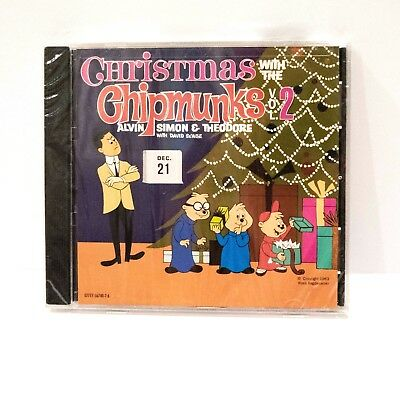 Alvin And The Chipmunks Christmas.Alvin And The Chipmunks Christmas With The Chipmunks Volume 2 Cd New