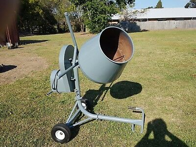 NuPower Concrete Mixer 2.2 Cu ft Very good condition