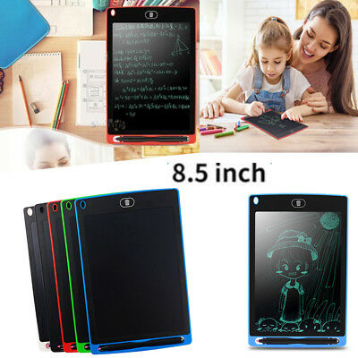 8.5inch electronic LCD writing tablet kids portable memo graphics drawing pad