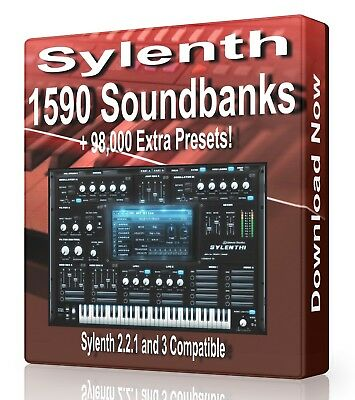1630 Banks + 99,100 Presets for Sylenth Logic, FL Studio, Reason, Ableton Cubase