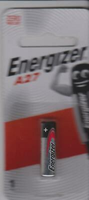 A27 Genuine ENERGISER 0%Hg 12V Battery  Garage Car Remote Alarm - FREE SHIP Aust