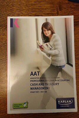 Cash and Treasury Management - Study Text by Kaplan Publishing (Paperback, 2017)