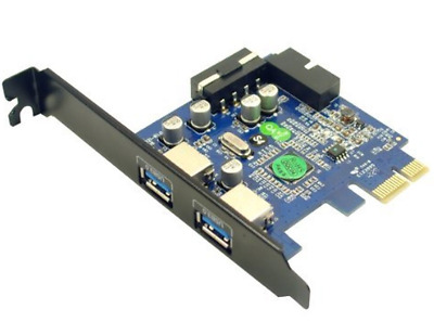 Anker Uspeed PCI E to USB 3.0 2 Port Express Card with 1 USB 3.0 20 pin