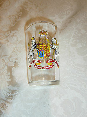 Vintage Coronation Of Queen Elizabeth Ii - June 2Nd 1953 Collectable Glass