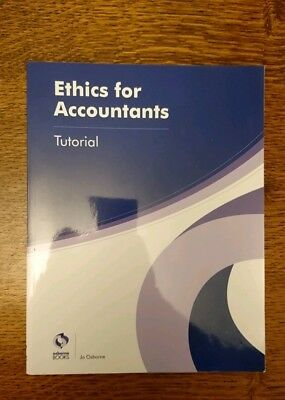Ethics for Accountants Tutorial by Jo Osborne (Paperback, 2016)