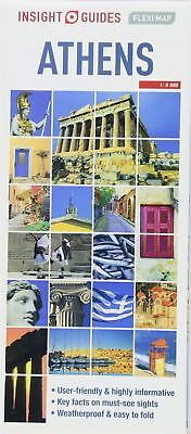Insight Guides Flexi Map Athens by insight guides