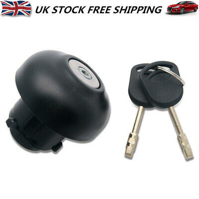 New Locking Fuel Cap Petrol + Two Keys For Ford Transit MK7 2006-2018 1715043