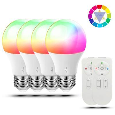 Sengled Tunable A19 LED Color Changing Light Bulb, RGBW Bulb with Remote...