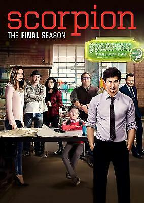 Scorpion Season 4 DVD Complete Final 4th Series New & Sealed UK Compatible