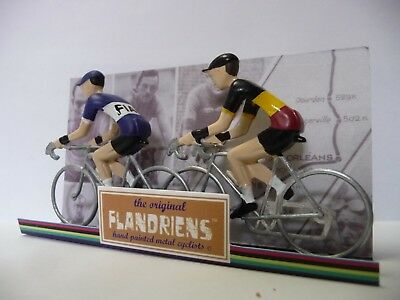 Flandrien classic cycling figures for collectors, trophies or cake decoration