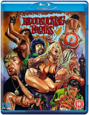 Bloodsucking Freaks Blu Ray Video Nasty 88 Films MINT