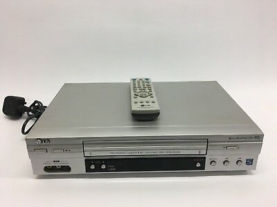 Genuine LG LV880 6 Head NiCam VHS Video Cassette Player/Recorder original remote