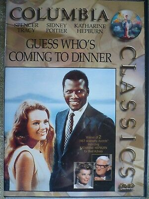 Guess Who's Coming to Dinner, Spencer Tracy,  Sidney Poitier, Katharine Hepburn.