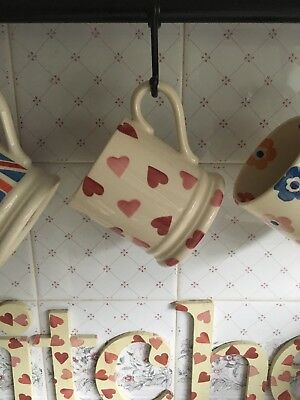Emma Bridgewater Pink Hearts Mug ~ Suit Display