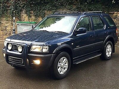 02 Vauxhall Frontera 2.2 DTi AUTOMATIC 5dr ONLY 57,000 GENUINE MILES *BEAUTIFUL*