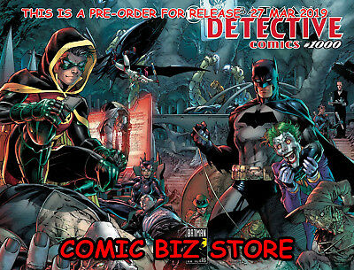 Detective Comics #1000 (2019) Lee & Williams Wraparound Cover Pre-Order 27 Mar