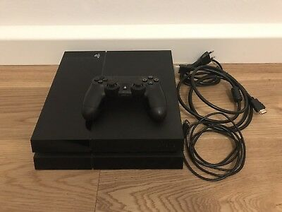 TOP PlayStation 4 500GB inkl. Controller schwarz Sony PS4