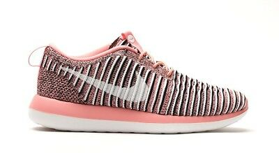 promo code 922d2 29983 UK 5 Women s Nike Roshe Two Flyknit Pink Trainers EUR 38.5 US 7.5 844929-801