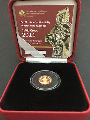 Ireland 2011 20 Euro Gold Proof Coin - Celtic Cross