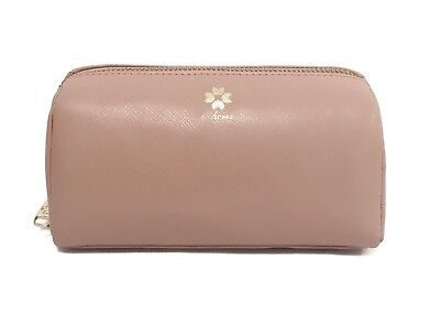 09cd8246f TED BAKER LONDON Lindsay Mirrored Make-Up Bag Rose gold Tote Clutch ...