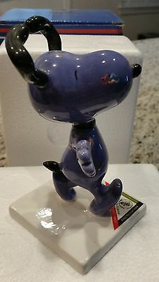 """SNOOPY PEANUTS ON PARADE WESTLAND GIFTWARE """"What's Your Sign"""" with Box"""