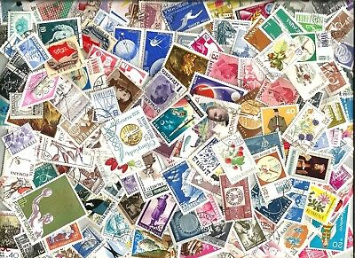 100  ROMANIA    STAMPS selection mostly different off paper good used