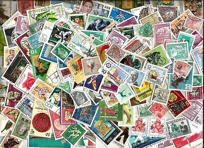 100 DDR GERMANY  STAMPS USED .  mostly  All different from kiloware good used