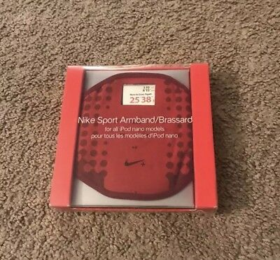 Red Nike Sport Armband Brassard For Ipod Nano Ac1368 Workout Exercise Rsp 29.00