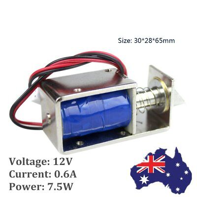 DC 12V Small Door Mini Electric Lock Assembly Latch Solenoid luggage  locker D0