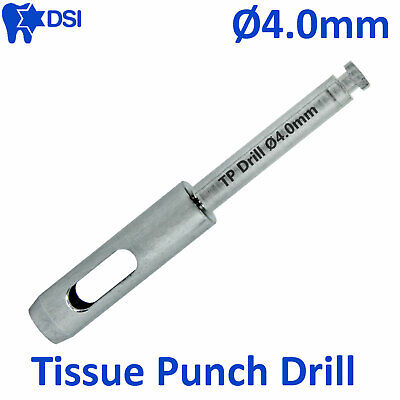 DSI Dental Implant Abutment Surgical Tissue Punch Drill Flapless Osteotomy Ø4.0