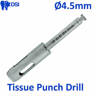 DSI Dental Implant Abutment Surgical Tissue Punch Drill Flapless Osteotomy Ø4.5