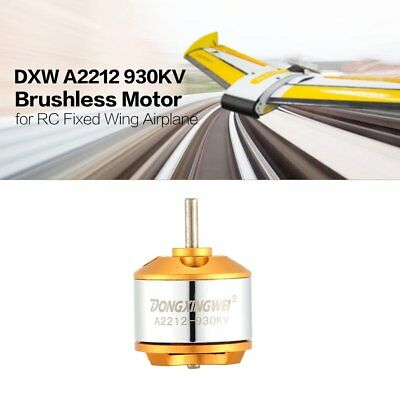 DXW A2212 930KV 2-4S Outrunner Brushless Motor for RC Fixed Wing Airplane ND