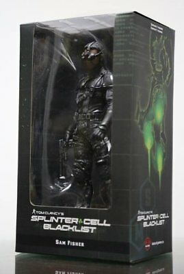 Splinter Cell Blacklist Tom Clancy's SAM Fisher Figure Ubisoft New (TOY-00267)