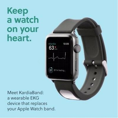 Alivecor KardiaBand for Apple Watch - FDA Cleared - ( 38mm and 42mm)