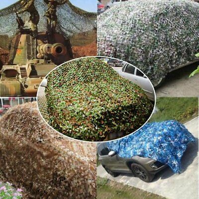 Woodland leaves Camouflage Camo Army Net Netting Car Camping Military Hunting C2