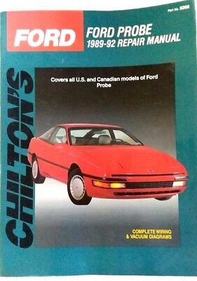 1989 - 1992 Ford Probe Chilton Service Repair Workshop ...  Ford Probe Wiring Diagram on 89 ford transfer case, 89 ford clutch diagrams, 89 ford electrical schematics, 89 ford f350 powerstroke, 89 ford engine,