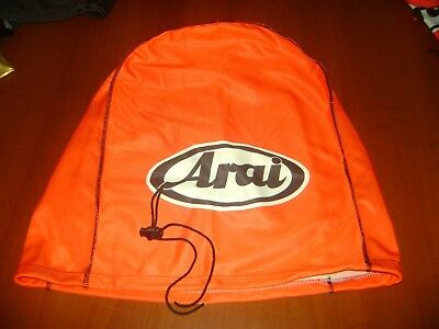Motorcycle Helmet Bag Microfiber Arai Helmet Bag Carry Helmet Duffle Red