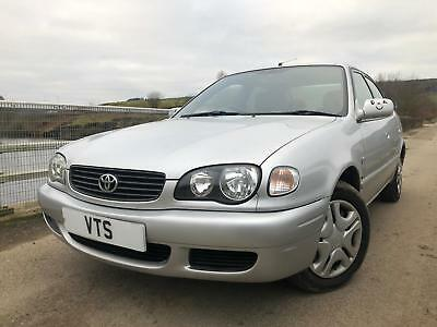 * 2001 Toyota Corolla 1.6 Vvti Gs / 2 Owners From New & 14 Service Stamps *