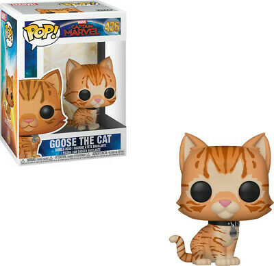 Captain Marvel - Goose The Cat - Funko Pop! Marvel: (2019, Toy NUEVO)